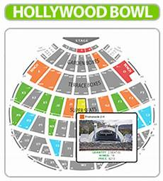Hollywood Bowl Terrace Seating Chart Hollywood Bowl Tickets 2019 Get 5 Back Off Your Order