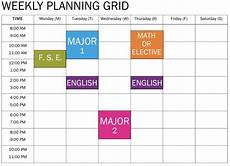 Schudule Maker Free College Schedule Maker Blog College Schedule Maker