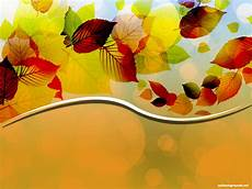 Autumn Powerpoint Background Creative Autumn Leaves Vector Background For Powerpoint