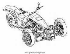 trike 2 gratis malvorlage in motorrad transportmittel