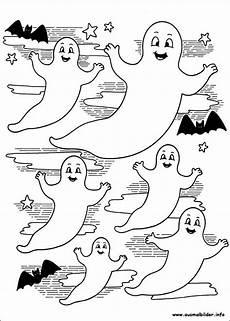 Ausmalbilder Geister Und Gespenster Gespenster Malvorlagen Basteln