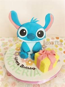 stitch birthday cake by strawberrystory on deviantart