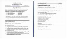 How 2 Make A Resumes Resume Format 2 Page Resume Format Header Needed
