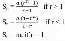 Geometric Formula Geometric Progression Formulas All Mathematics Solutions