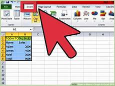 How To Make Graph Paper In Excel 2010 How To Make A Graph In Excel 2010 15 Steps With Pictures