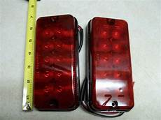 Surface Mount Trailer Lights 10 Diode Surface Mount Red Led Stop Turn Light Rv