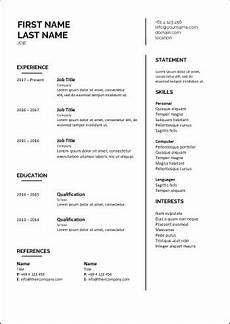 Cv Template Nz Cv Template Career Academy Industry Recognised Online