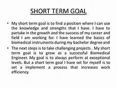 Long Term Professional Goals Business School Essays Short Long Term Goals