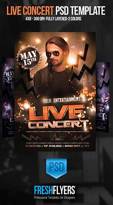 Concert Flyer Psd Live Concert Psd Flyer Template By Imperialflyers On