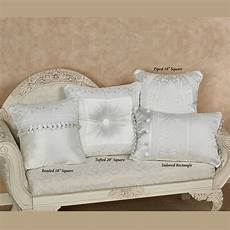 bianco solid white decorative pillows by j new york