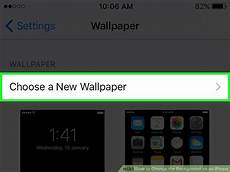 Changing Wallpaper On Iphone by How To Change The Background On An Iphone 9 Steps With