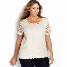 plus size sleeve tops inc international concepts plus size sleeve lace top