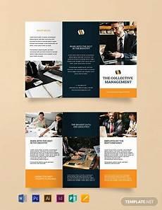 Mac Brochure Template Free Blank Trifold Brochure Template Word Doc Psd