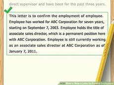 Nyc Doe Incident Report Form How To Write A Letter For Proof Of Employment 11 Steps