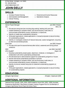 Perfect Font For Resumes And Font Size 3 Resume Format Resume Format Job