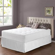 zinus therapy 12 in box top mattress bed