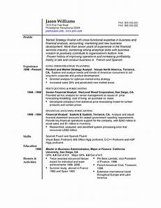 Do A Resume For Free 85 Free Sample Resumes By Easyjob Easyjob