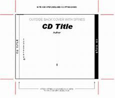 Cd Case Creator 26 Images Of Cd Case Label Template Leseriail Com