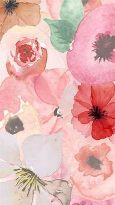 Watercolor Flower Wallpaper Iphone by Floral Watercolor Design Iphone Wallpaper Cool Beans