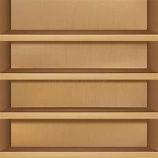 scaffale per libri scaffale per libri vuoto di legno illustrazione vettoriale