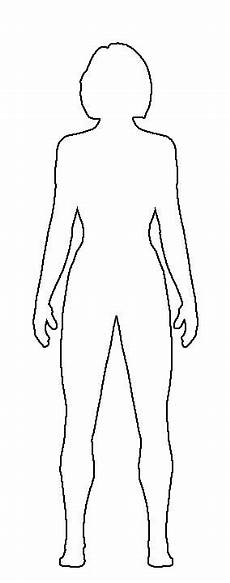 Outline Of A Female Body Template Free Clipart Girl Body Drawing Outline 20 Free Cliparts