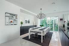 white home interior design house design with a contemporary black and white palette