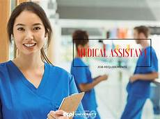 Medical Assistant Job Medical Assistant Job Requirements You Might Not Be Aware Of
