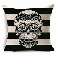 wholesale custom linen fabric pillow cover print