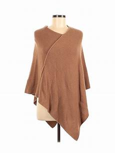 United Colors Of Benetton Size Chart United Colors Of Benetton Women Brown Poncho One Size Ebay
