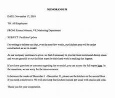 Memo Examples How To Write A Memo Template Amp Examples