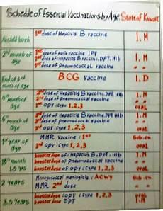 Immunization Chart For Babies In Nigeria Immunization Schedule Table 2018 Www Microfinanceindia Org