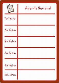 Agenda Semanal As Tontas V 227 O Ao C 233 U Tabela De Agenda Semanal De Tarefas