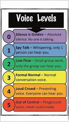 Voice Chart Mrs Amundson S Update Voice Levels Chart