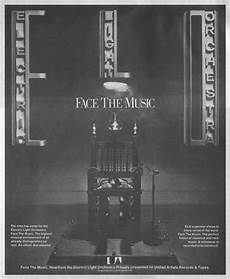Electric Light Orchestra Face The Music Album Cover Electric Light Orchestra Face The Music