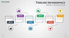 Powerpoint Timeline Smartart Timeline Infographics Templates For Powerpoint