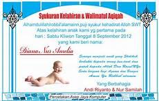 contoh undangan syukuran kelahiran bayi kristen harga