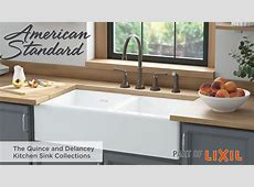 The Quince and Delancey Farmhouse Kitchen Sinks by American Standard   YouTube