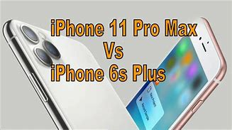 Image result for iPhone 11 Pro vs iPhone 6s
