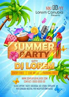 Summer Party Invites Free 20 Beautiful Summer Party Invitation Designs In Psd