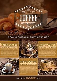 Cafe Flyer Template Free Coffee Shop A4 Flyer Graphic Google Tasty Graphic