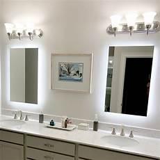 Bathroom Mirror Side Lights Side Lighted Led Bathroom Vanity Mirror 40 Quot X 48