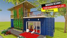modern shipping container house plans liftbox 480 by