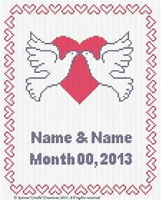 Free Wedding Cross Stitch Patterns Charts Anniversary Wedding Counted Cross Stitch Chart Pattern 2