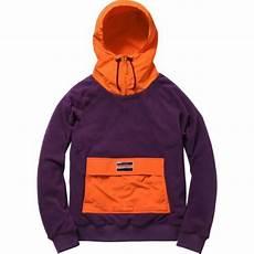 supreme hoodies supreme fleece pullover purple m box logo safari hoodie