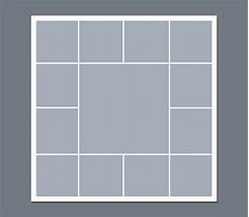 Photos Layout Templates Instant Download Storyboard Photographers Template