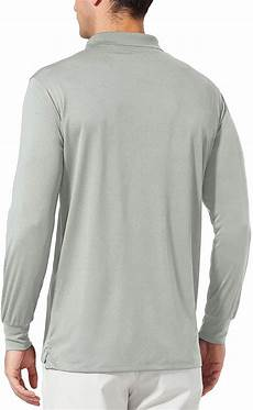 baleaf mens upf 50 sleeve pouch baleaf s upf 50 sun protection golf polo shirt