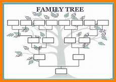 family tree diagrams printable 12 blank family tree template aplication format