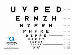 Visual Acuity Picture Chart Patient Brochures Forms Amp Eye Charts Optometry Australia