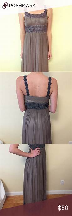 beautiful beaded papell maxi gown this is a