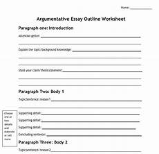 Essay Worksheets A Complete Guide On How To Write An Argumentative Essay